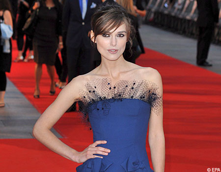 Keira Knightley may star with Daniel Craig in My Fair Lady