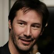 Keanu Reeves is taking part in a celebrity grand prix
