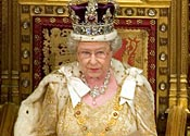 Queen to Twitter from Westminster