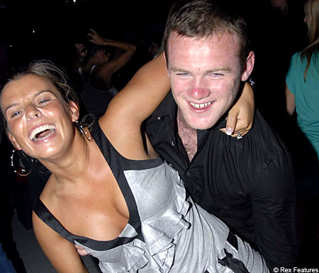 Weekly visits: Wayne and Coleen Rooney will only meet after games