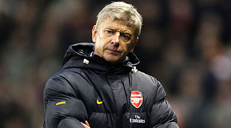 Dutch delight: Arsene Wenger is favourite to sign Luc Castaignos