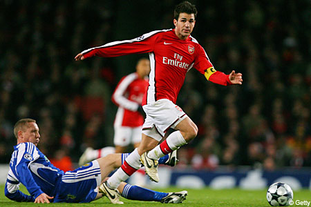 Uncertain future: Cesc Fabregas doesn't know if he'll stay at Arsenal next season