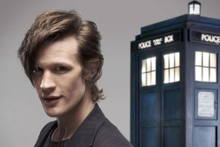 Matt Smith is earning praise for his performance as Dr Who