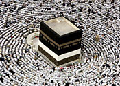 Mosques in Mecca facing wrong direction