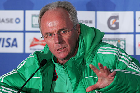 Eriksson was sacked by MExico in April