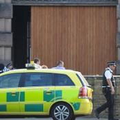 Three bailed over prison shooting