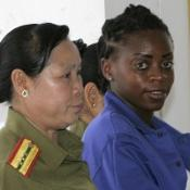 Pregnant heroin smuggler given life