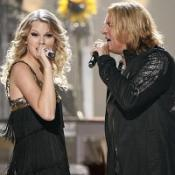 Taylor cleans up at country awards