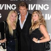 The Hoff shows off his daughters