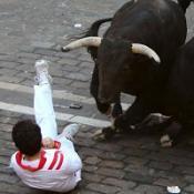 Briton describes fatal bull rampage