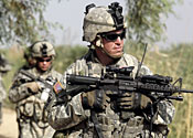 US troops given all-clear to smoke