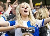 Blackburn Rovers top exhilaration league