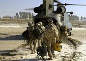 Soldier died after delivering goat