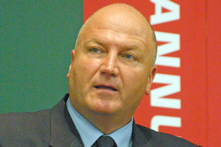 Bob Crow: proud to be called a militant