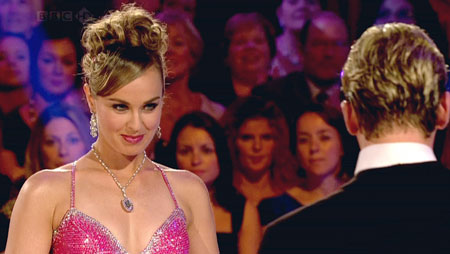 Tennis champ Martina is bombed out of Strictly first round