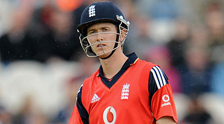 Fitness doubt: Joe Denly was injured playing football in training
