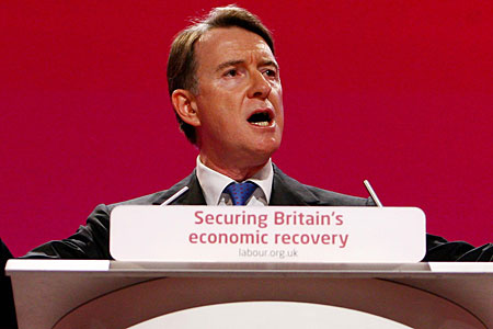Lord Mandelson pledged that Labour will win the General Election under Gordon Brown's leadership