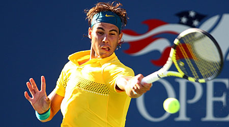 Bright hopes: Rafael Nadal made a confident return from injury