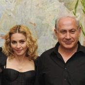 Madonna sees in Sabbath in Israel