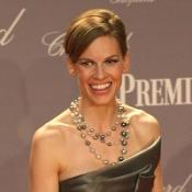 Hilary Swank on dating her agent
