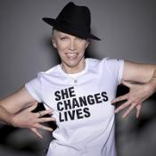 Annie Lennox is lending her support to the Oxfam She Changes Lives campaign