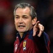 George Burley could only guide Scotland to third in their World Cup qualification group