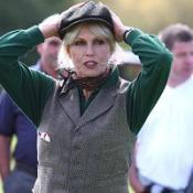 Joanna Lumley's ploughing match