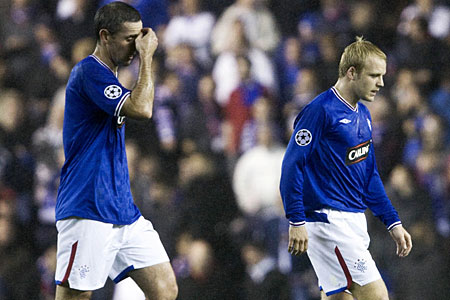 Rangers reflect on a heavy defeat