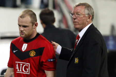 Wayen Rooney is one of Sir Alex Ferguson's star me - but how many Manchester City players would get into the champions' side?
