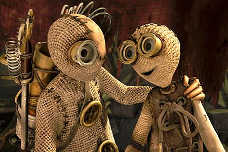 Tim Burton produced the animation 9