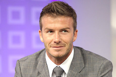 Rap star? David BEckham