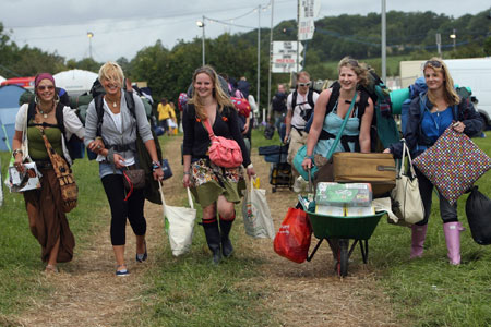 Fans had to register for tickets for Glastonbury 2010 by midnight on Friday