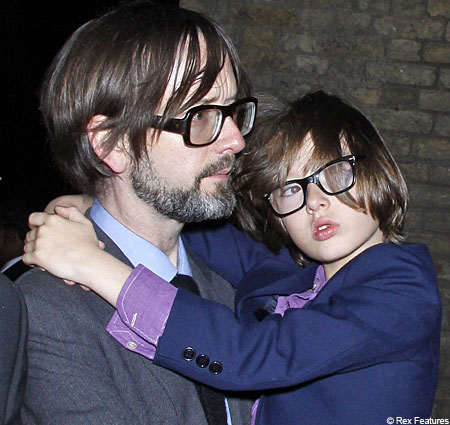 Jarvis Cocker's son has inherited his father's sense of style