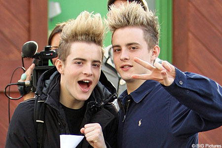 Heavyweight clash: X-Factor stars Jedward