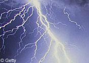 Man struck by lightning while mountain climbing
