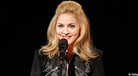 Madonna: accused of 'blaring music, stomping and shaking walls'