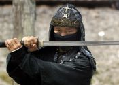A ninja, possibly coming after Joe Liberman