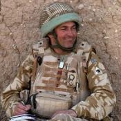 Lt Col Rupert Thorneloe, who was killed  in Helmand province, Afghanistan