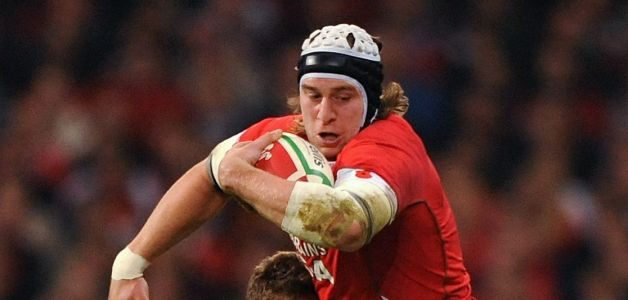 Ryan Jones, of Wales, expects a physical battle against Samoa