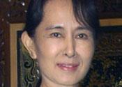 Pro-democracy Burmese leader Suu Kyi sees US officials