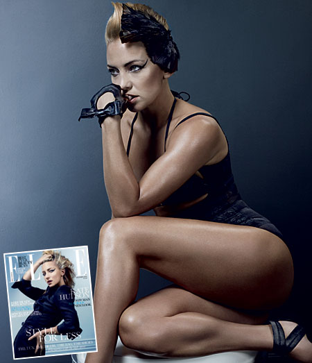 New look Kate Hudson gets fit in Elle magazine