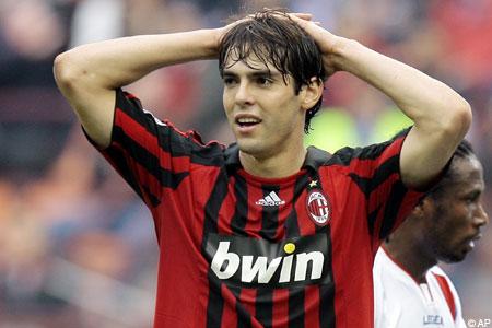 Homecoming: Kaka spent five seasons at Milan before joining Real Madrid