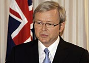 Australia PM Kevin Rudd is considering the plan