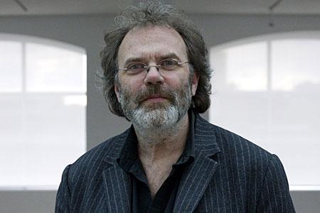 Art critic Matthew Collings is one of the judges on School Of Saatchi