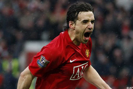 Back in Manchester: United midfielder Owen Hargreaves
