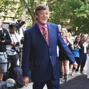 Stephen Fry has admitted feeling sheepish after being branded boring on Twitter
