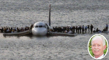 150 passengers were saved by Chesley Sullenberger's exploits