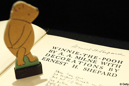 Winnie the pooh is at the centre of a legal storm
