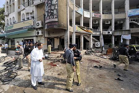 Blast: The lastest attack, yesterday, killed 35