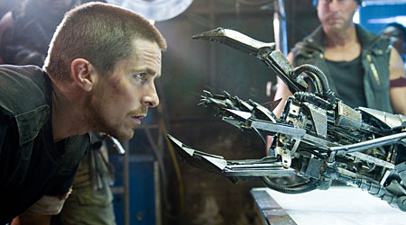Christian Bale starred in Terminator Slavation